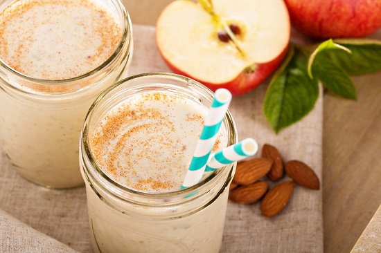Healthy Apple Cinnamon Smoothie Recipe