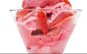 Soft serve ice cream larger width