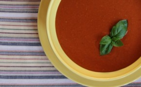 roasted red pepper tomato soup1