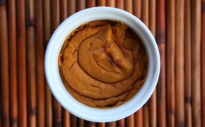Pumpkin pie custard 088