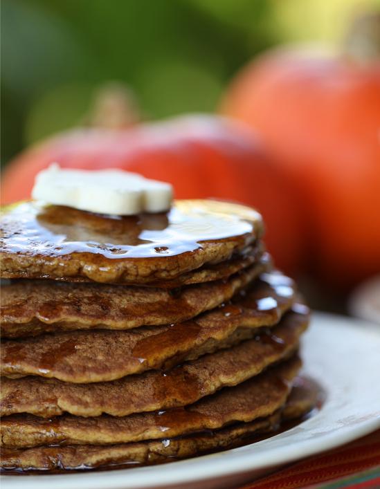 Pumpkin Pancakes Gluten-free