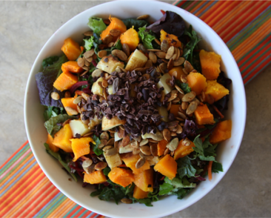 Roasted Root Vegetable Salad Vegan or Plant-Based