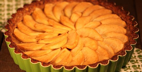 Apple Tart gluten free refined sugar free
