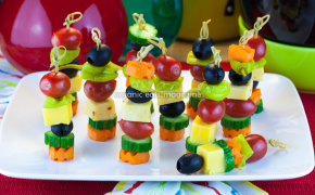 Mini party kabobs quick and easy holiday appetizer recipe