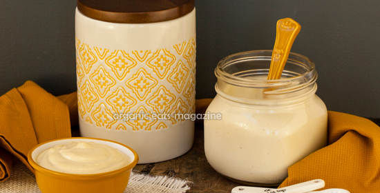 Vegan no mayo mayonnaise recipe is also Paleo Primal friendly