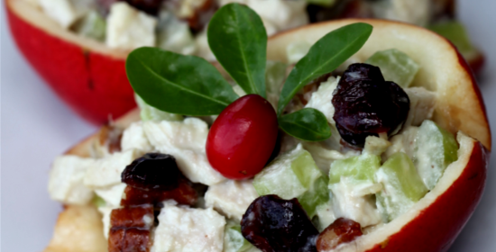 pecan cranberry turkey salad