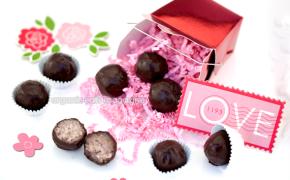 Healthier version of coconut truffles, gluten-free, dairy-free recipe is vegan and Paleo diet friendly