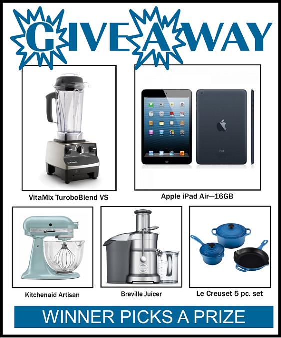 winner picks a prize giveaway SM