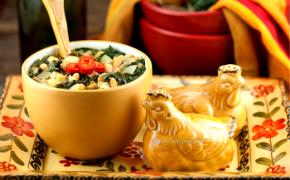 Kale and White Bean Soup Organic Eats Magazine
