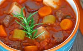 Italian Tomato Beef Stew Recipe