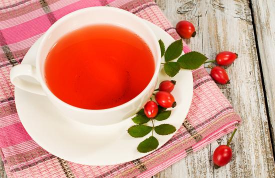 Homemade Rosehip Tea
