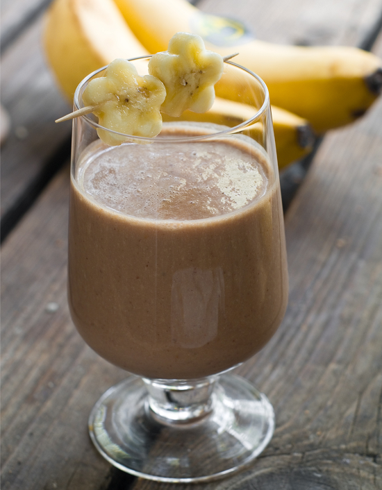 Chocolate Banana Peanut Butter Smoothie | Organic EatsOrganic Eats