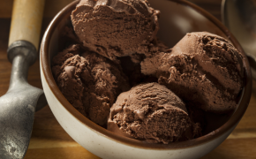 Dairy free Chocolate Banana Ice Cream
