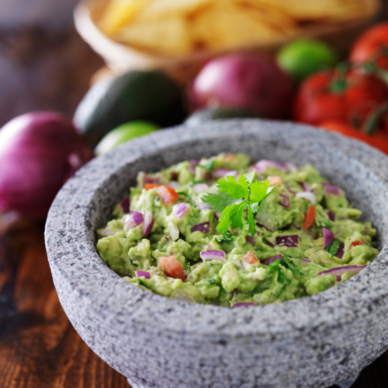 Mexican Guacamole Recipe