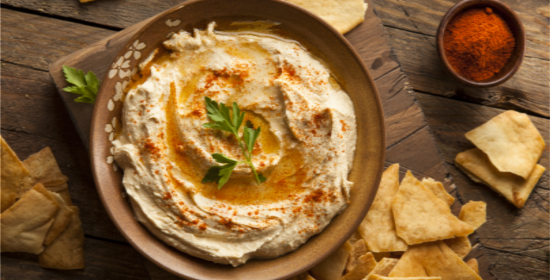 Lower Calorie Hummus Recipe
