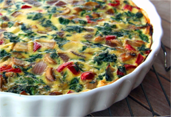 Crustless Quiche Recipe Paleo